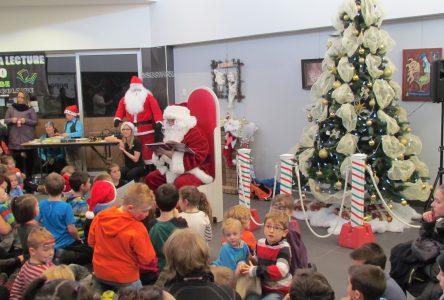 150 personnes ont assisté au Conte du Père Noël