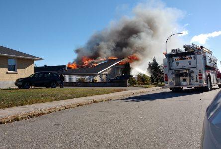 La cause de l'incendie sur Doucet toujours inconnu