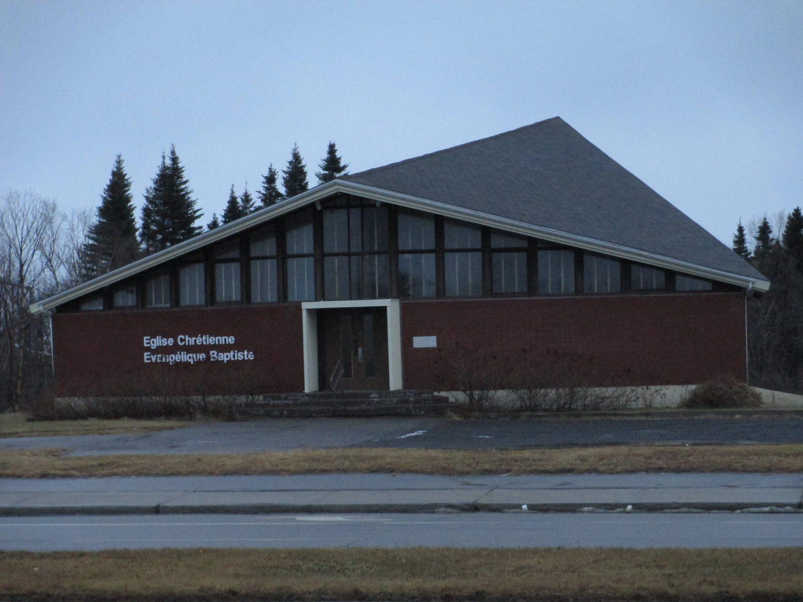 L'Église baptiste pourrait éviter la destruction
