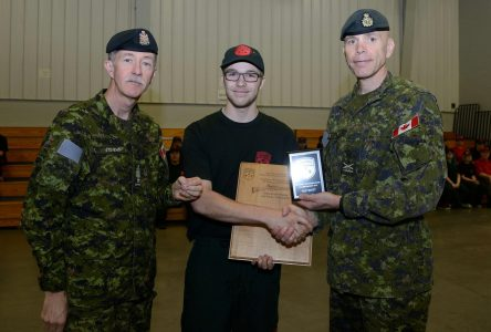 Ranger junior: Jonathan Thibault, meilleur tireur au pays