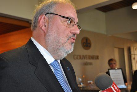 Pierre Arcand «réfute» que la Côte-Nord soit «abandonnée» par les libéraux