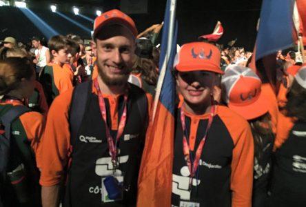 51e Finale des Jeux du Québec: 91 Nord-Côtiers en action à Montréal