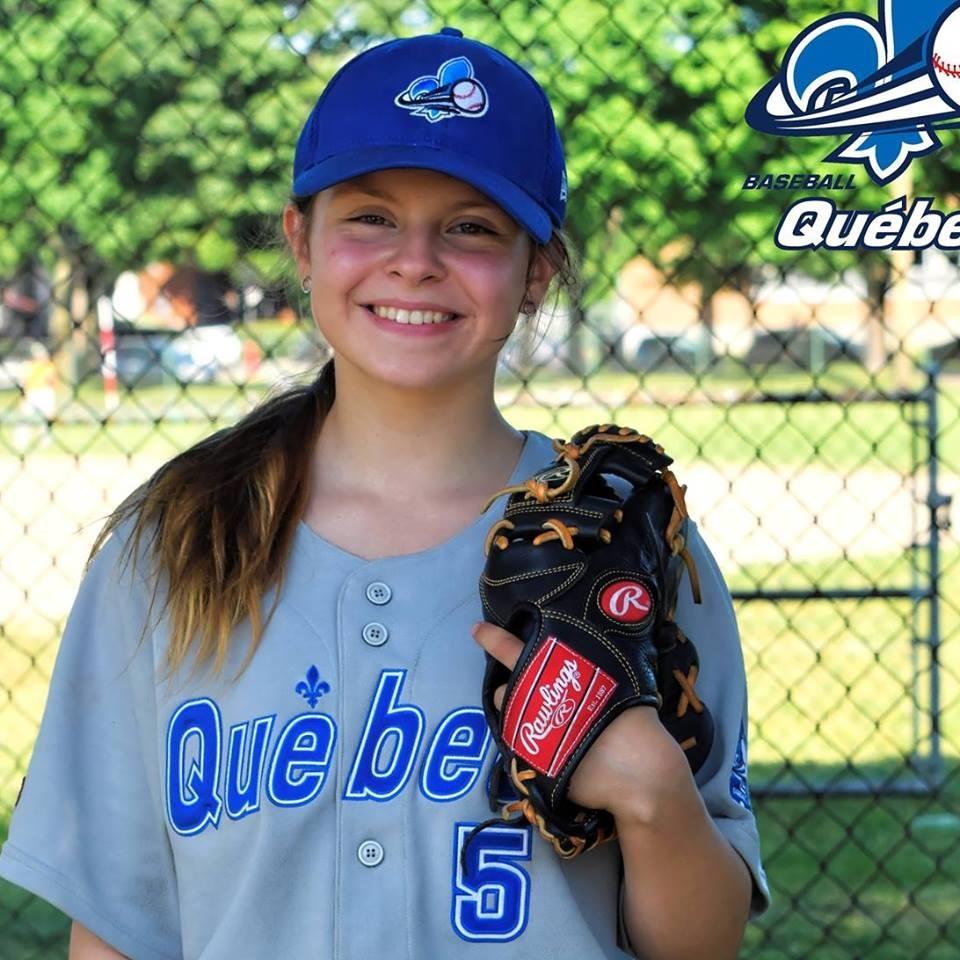 Baseball féminin: Audrey-Anne Vachon se prépare pour le championnat canadien