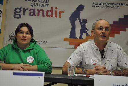 La CSN lance une campagne pour défendre le réseau des CPE