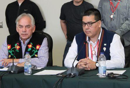 Rencontre des chefs à Québec:«Ouverture» à la nomination d'un expert autochtone