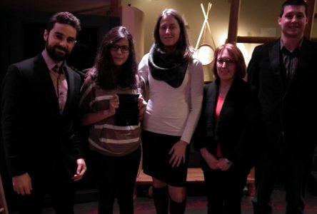 Prix Développement scientifique: Pascale St-Onge et Édouard Vincent Fontaine récompensés