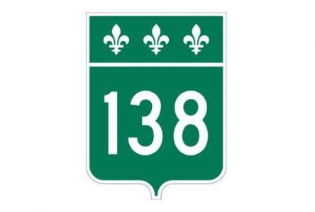 La route 138 demeure fermée