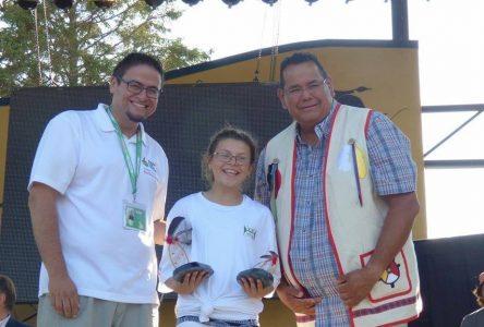 Jeux autochtones inter-bandes:Audrey-Anne Vachon, «un bijou en or»