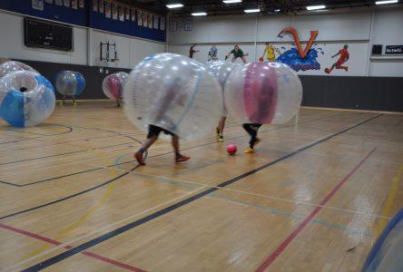 Succès de participation pour le tournoi de bubble soccer