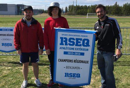 L'Ouest s'impose au Championnat régional d'athlétisme à Sept-Îles
