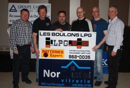 Équipe Gagnon s'enrichit au Skins Game Boulons L.P.G.