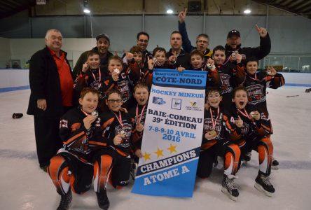 L'ouest s'impose aux Championnats régionaux de hockey mineur