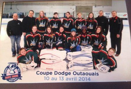 Les filles de la Côte-Nord reviennent de la Coupe Dodge avec la médaille d'argent