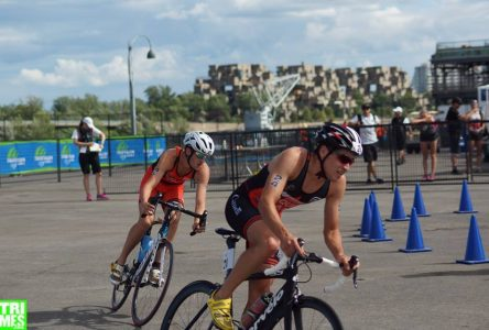 Paquet se classe deuxième chez les juniors au Triathlon international de Montréal