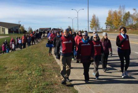 Sept-Îles/Uashat et Port-Cartier participent à la Grande Marche cette fin de semaine