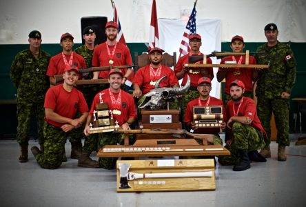 Les Rangers canadiens de la Côte-Nord se distinguent à un concours de tir