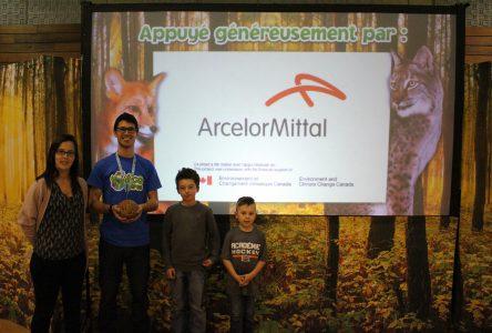 ArcelorMittal finance la formation de jeunes ÉcoHéros