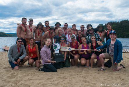 9e course bateaux-dragon : «Une belle journée malgré tout»