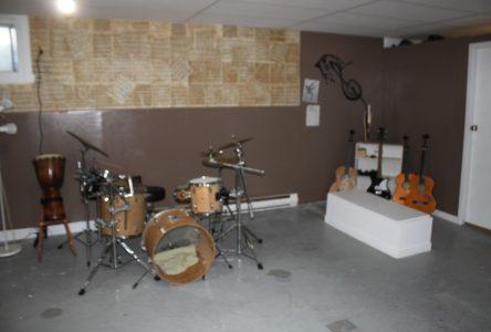 Centre d'intervention le Rond-Point: Un local de musique communautaire ouvre ses portes