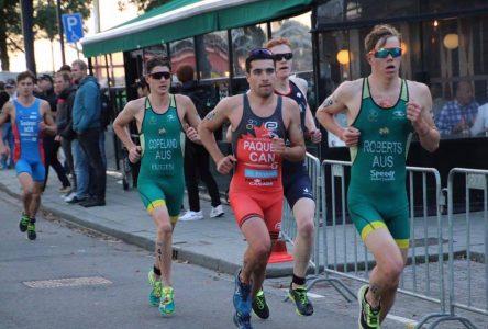 Charles Paquet prend le 30e rang au Championnat du monde de triathlon
