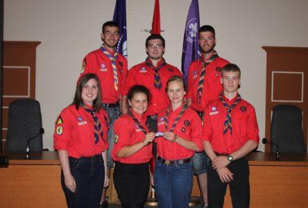Scoutisme:Huit jeunes de la région honorés pour la réalisation d'un exploit