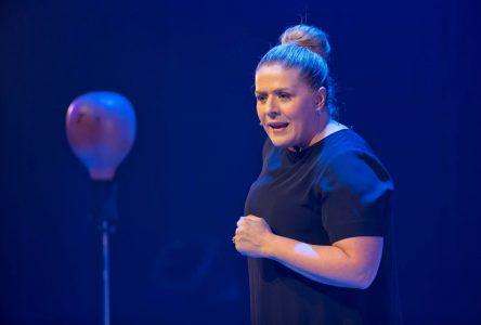 Valérie Blais:Des débuts remarqués en humour