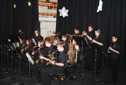 Les harmonies scolaires font revivre la magie de Noël