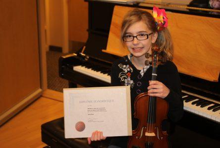 Irène Brie:Le portrait d'une jeune virtuose