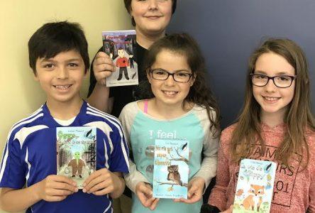 École Dominique-Savio: Quatre romans lancés simultanément