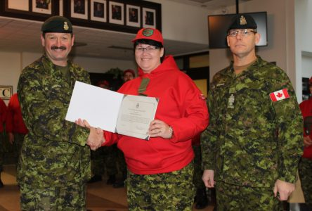 La Ranger Rowena Melinda Osborne reçoit une mention élogieuse