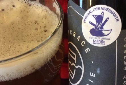 Microbrasserie : la bière des Hivernants embouteillée