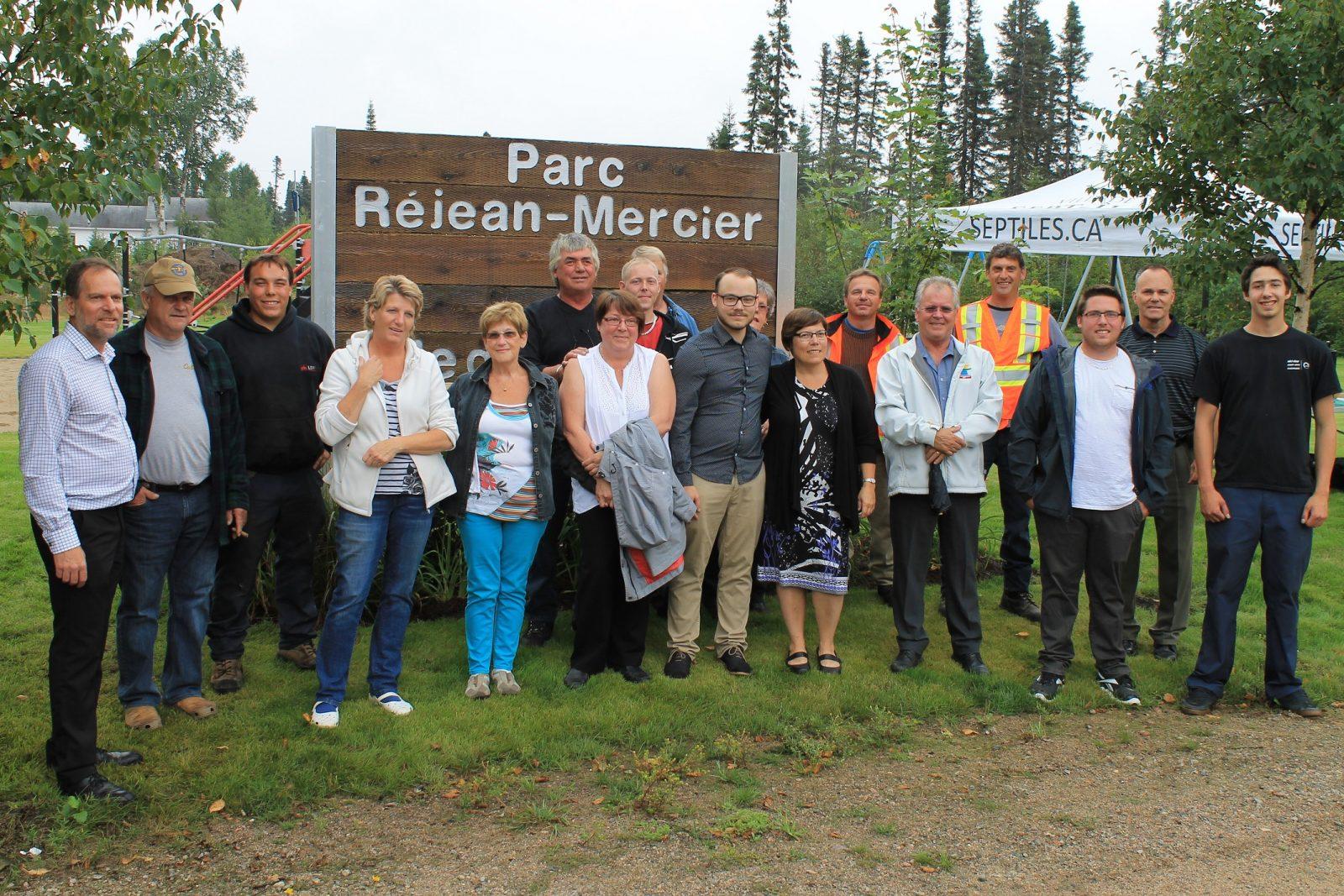 Moisie:Un parc nommé en la mémoire de Réjean Mercier