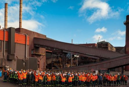 L'usine de bouletage de Port-Cartier célèbre ses 40 ans