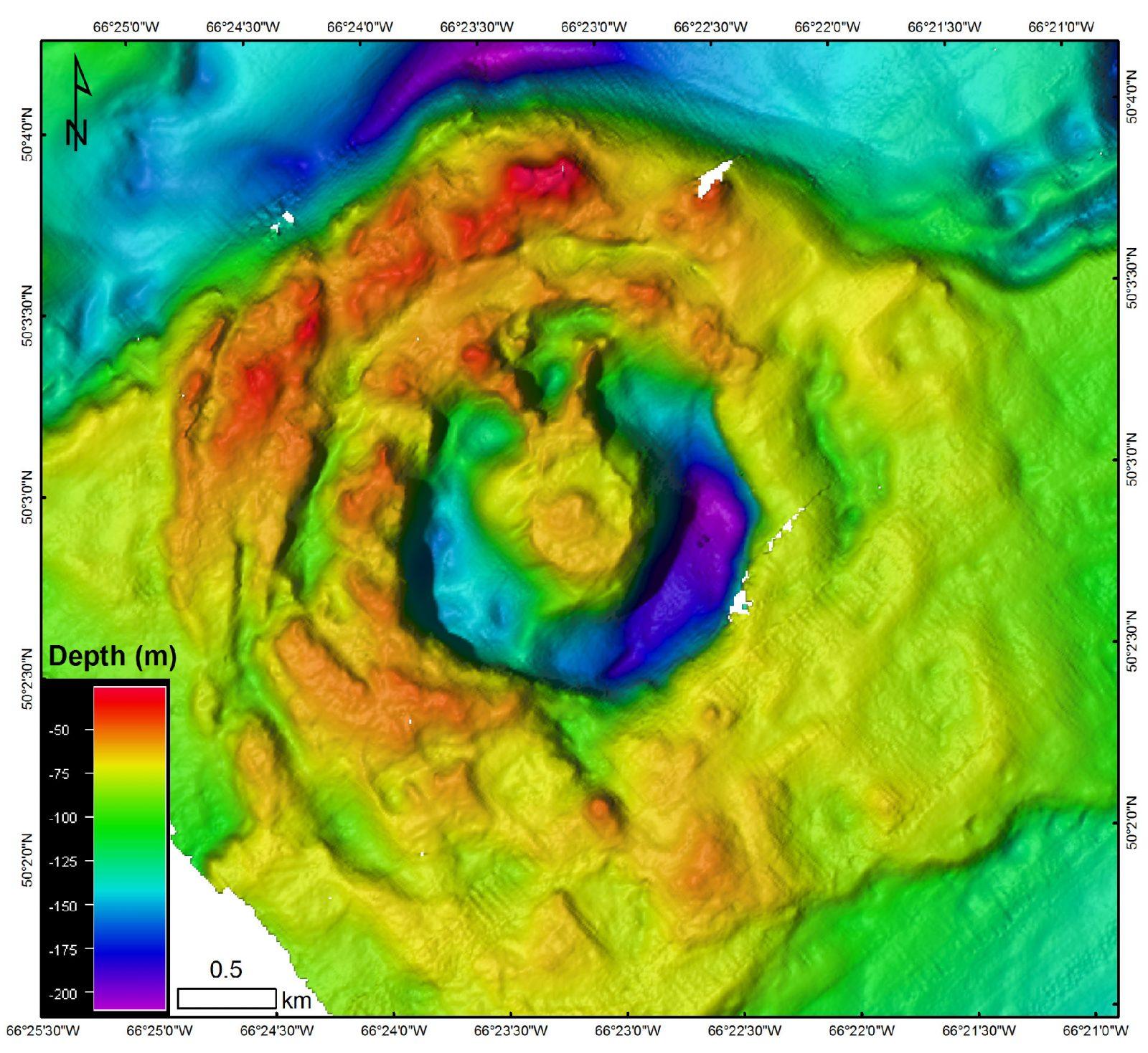 Cratère du Corossol: Découverte scientifique importante
