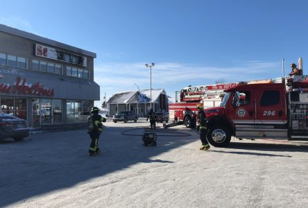 Les pompiers interviennent à la Clinique dentaire Ouellet et Duret