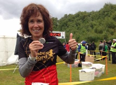 Ultramarathon : Anne Ross récolte l'argent en Islande