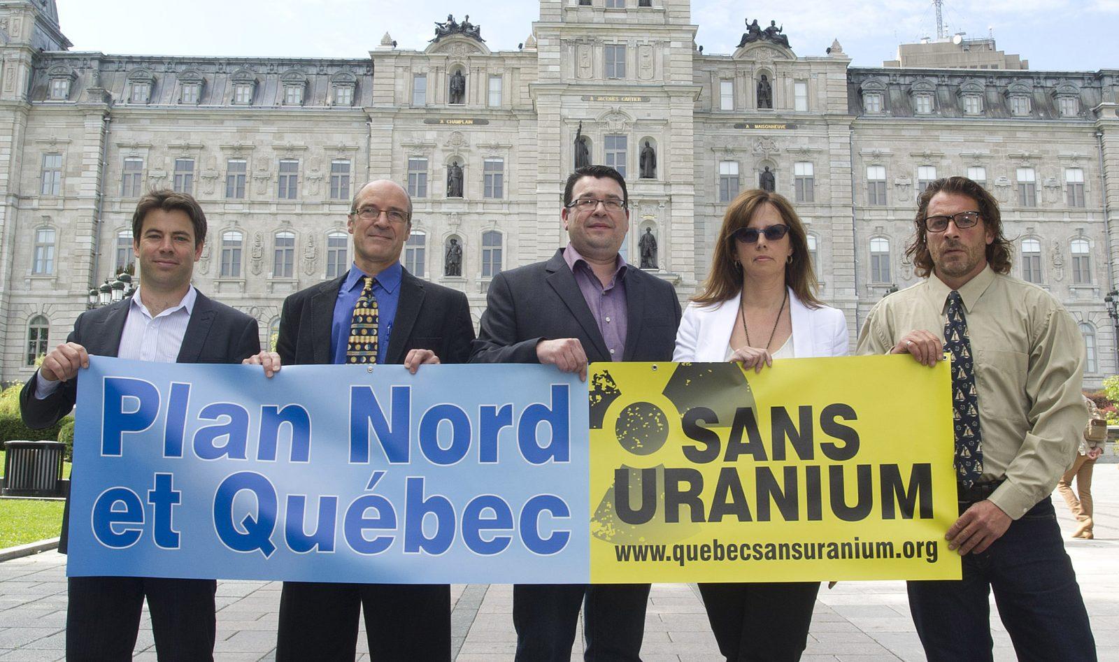 «Québec et Plan Nord sans uranium»: Les citoyens invités à faire connaître leurs préoccupations