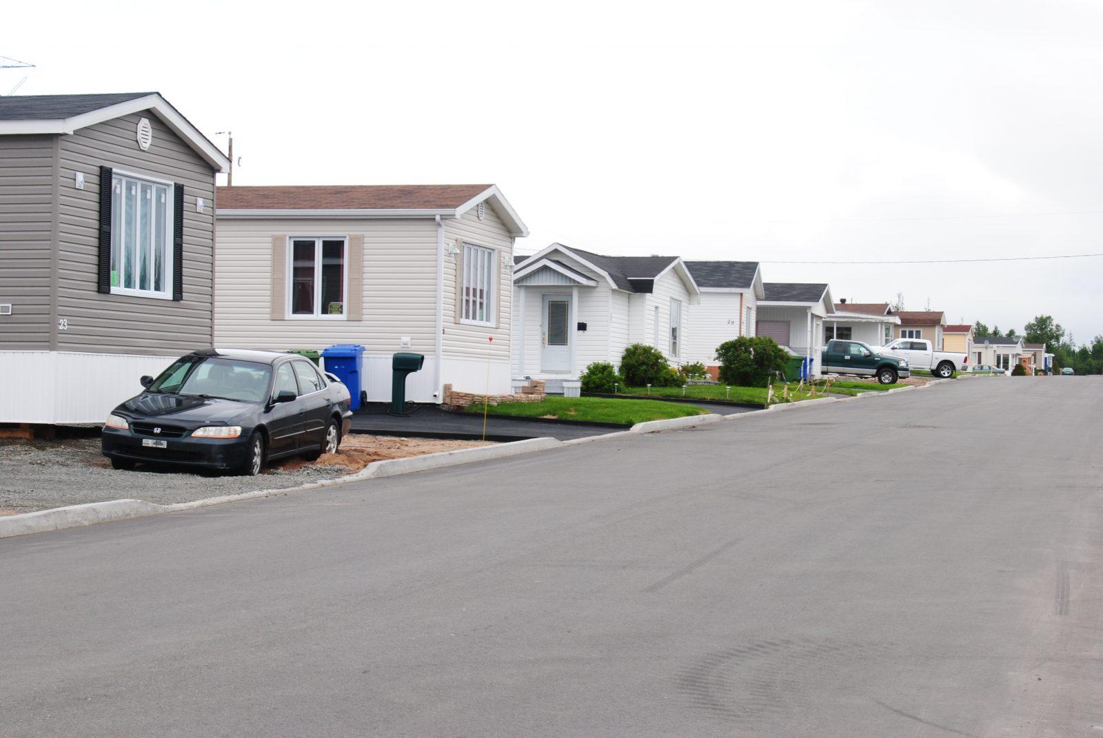 Forte hausse de la valeur des maisons mobiles: «Je trouve ça anormal» – Violaine Doyle