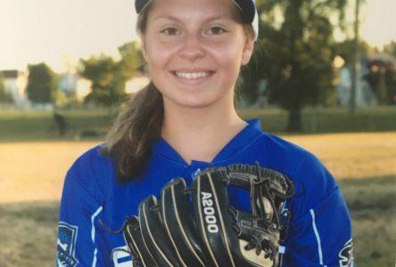 Audrey-Anne Vachon entame les championnats canadiens de baseball féminin U16
