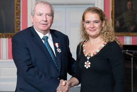 André Maltais est reçu membre de l'Ordre du Canada