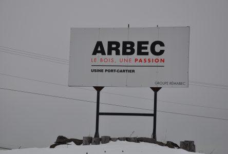 Usine d'Arbec: Un approvisionnement sur Anticosti n'est plus envisagé