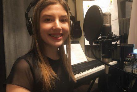 Audrey-Ann Leblanc enregistre deux nouvelles chansons