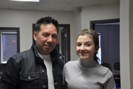 Audrey-Ann et Éric Leblanc chanteront avec Kevin Bazinet