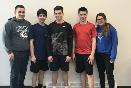 Trois raquettes de l'est de la côte assurent leur place pour les Jeux du Québec