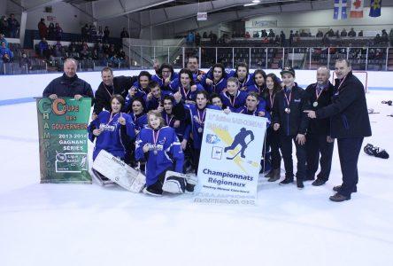 Tournoi pee-wee de Québec : le parcours des Basques s'arrête en huitième de finale