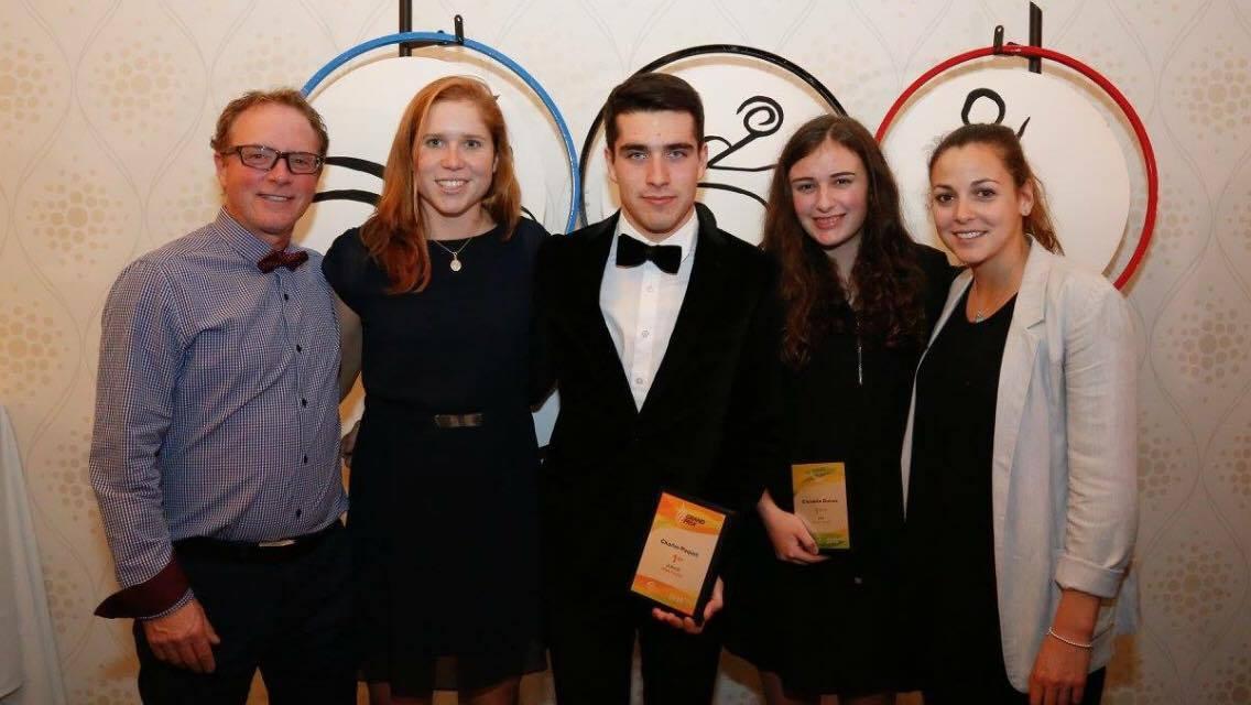 Dumas et Paquet récoltent les honneurs au Gala de Triathlon Québec