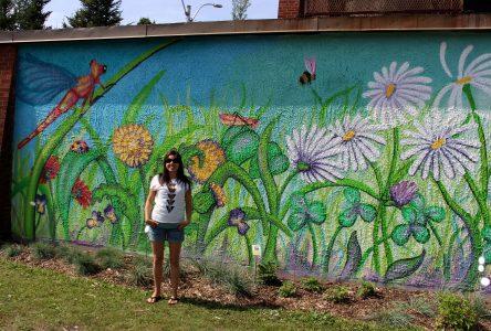 Jardin communautaire Ruisseau Bois-Joli: Le talent de Camille Deschênes-Côté mis en lumière