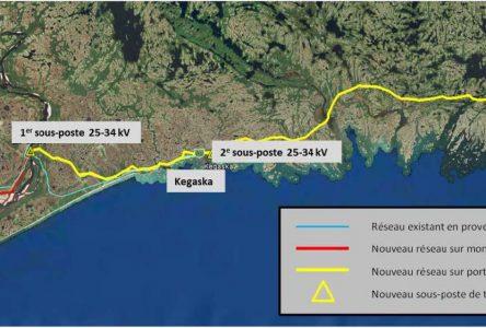 Hydro-Québec branchera le village de La Romaine au coût de 114 M$