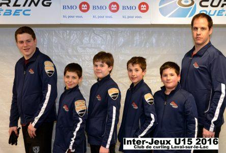 La Côte-Nord fait bonne impression aux Inter-Jeux BMO de curling