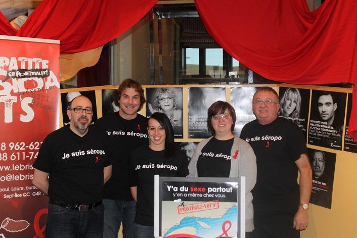 Journée mondiale de lutte contre le sida: La Côte-Nord relève le défi «Je suis séropo»